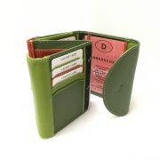 rfid wallet green 2