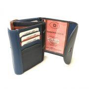 rfid wallet navy 2